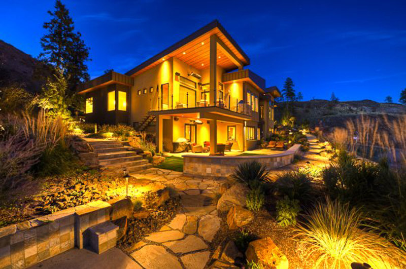 Landscape Design at Night
